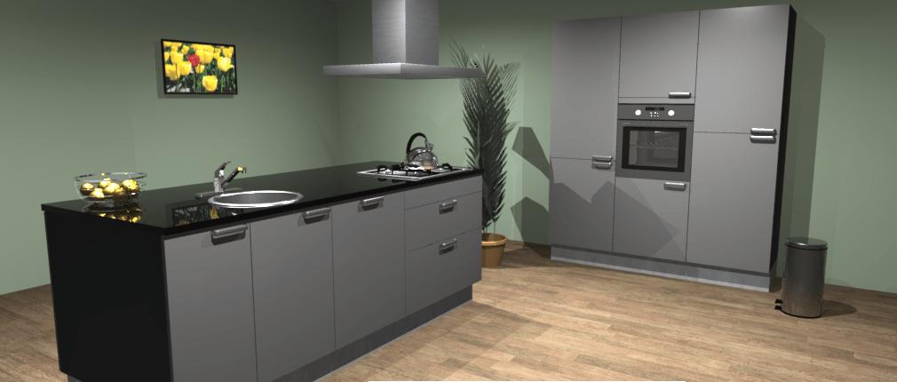 Design keuken tunis de keukenbaas for Keuken 3d planner