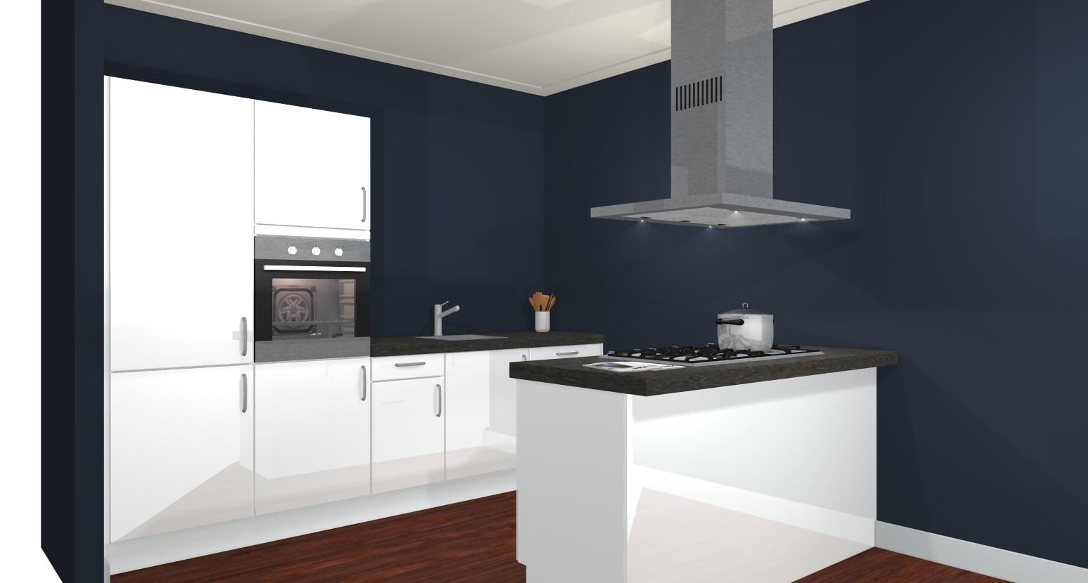 Keuken met eiland incl apparatuur de keukenbaas for Keuken 3d planner