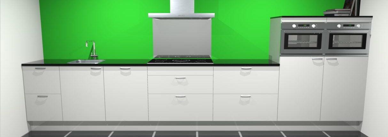 Design rechte keuken 470 cm ibiza de keukenbaas for Keuken offerte vergelijken