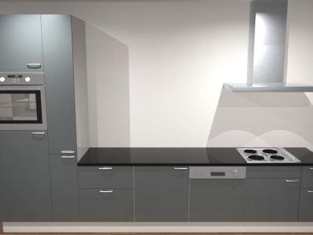 Keuken recht 300 cm 001 1 1