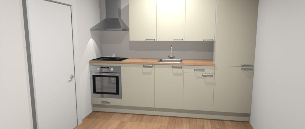 Design hoekkeuken 275 x 225 cm zadar de keukenbaas for Keuken offerte vergelijken