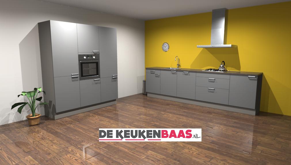 Verwonderend Rechte keuken Zakynthos - De Keukenbaas CJ-13